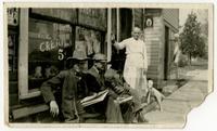 Roy Bull's Restaurant before the War - Lawrence, Kansas