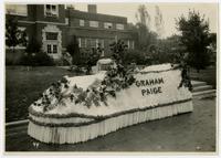 Graham Paige float (75th Anniversary Historic Parade)