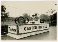 Carter Service - Firestone float (75th Anniversary Historic Parade)