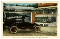 Ward's Flower Shop - 931 Massachusetts St., Lawrence, Kansas
