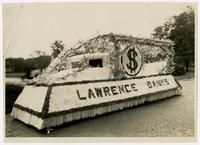 Lawrence Banks float (75th Anniversary Historic Parade)