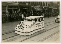 Fraternal Order of Eagles float (75th Anniversary Historic Parade)