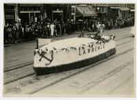 Kiwanis Club of Lawrence float (75th Anniversary Historic Parade)