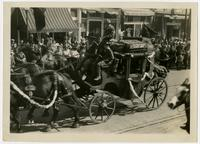 Stagecoach float (75th Anniversary Historic Parade)