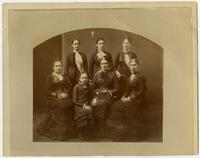 Unidentified group of women, probably a family
