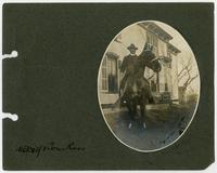 General W. S. Metcalf on [horse] Tom Ross