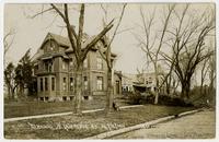 Judge Emery Residence (627) and 600 block of Louisiana Street (1911 Tornado)