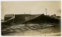 Blacksmith shop on West Pinckney (6th) Street (1911 Tornado)