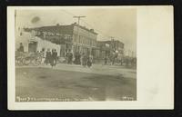 Destruction on Massachusetts Street (1911 Tornado)