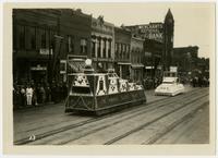 The Kansas Electric Power Company's float (75th Anniversary Historic Parade)