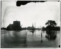 High water at Union depot (1903 Flood)