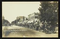 Haskell Quarter Century - Lawrence Auto Club entertaining visitors