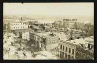 View looking northeast from National Bank (1911 Tornado)