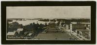 View north toward river and flood plain (1908 Flood)