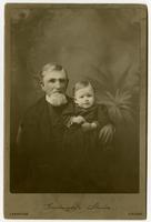 Goodnight's Studio - grandfather (Episcopal priest) and grandchild [cabinet card]