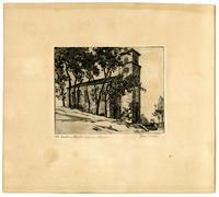 First Unitarian Church, Etching By Clara Hatton