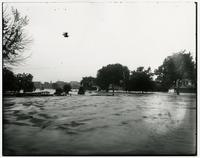 High water in north Lawrence looking south (1903 Flood)