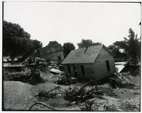 Houses destroyed by flood (1903 Flood)
