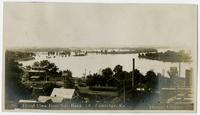 View north from National Bank toward river (1908 Flood)
