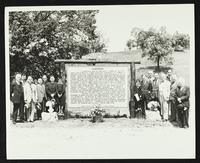 Dedication of Kansas Historical Marker at Lawrence