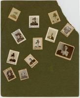 Lela Douthart, Harriet Geissnigh, Abbie Mills, Kate Caldwell, S. A. Wood, Edith Wood, Nell McCurdy, Mrs. S. A. Wood, Lulu Griggs