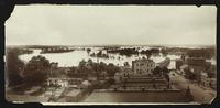 View of Lawrence, river, and flood plain (1903 Flood)