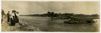 People on north bank (1903 Flood)