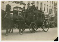 Stagecoach used by Wells Fargo Company (75th Anniversary Historic Parade)