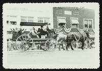 Souvenir booklet containing ten prints (Lawrence Centennial Parade)