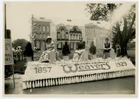 Weaver's 1857-1929 float (75th Anniversary Historic Parade)