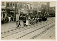 Weaver's Girls in Grandmas' clothes (75th Anniversary Historic Parade)