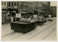 City schools float (75th Anniversary Historic Parade)
