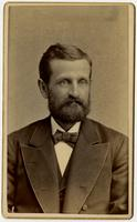 Portrait of man with beard and bowtie