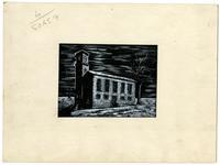 First Unitarian Church- Ink Drawing