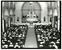 St. John's - Interior During Father Towles Jubilee