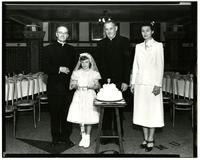 St. John's- Father Towles and Cake