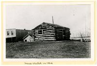 First House in Lawrence, Erected 1854