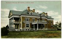 Governor W.R. Stubbs Residence, (Sigma Nu House)