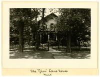 James Lane House, Front View - Mississippi Between 7th & 8th