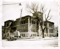 Demolishing Old Central High School