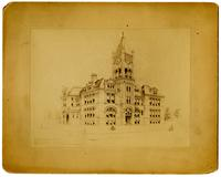 Lawrence High School, Architect J.G. Haskell