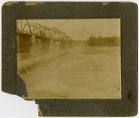 """The Dam"" Before Flood of 1903 - Lawrence, Kansas"