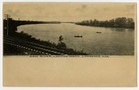 Kaw River - Looking North, Lawrence, Kansas