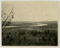 Kansas River and Fields