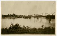 A (Highway?) Bridge Over River