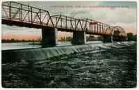 Dam and Bridge Across Kansas River - Lawrence, Kansas