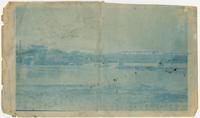Kansas River and Massachusetts St. Bridge, and Lawrence