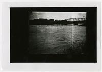 Kansas River, Bridge & Bowersock - Lawrence