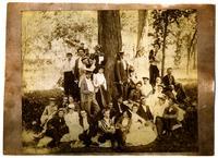 Camping at Lakeview, Lawrence Society Group