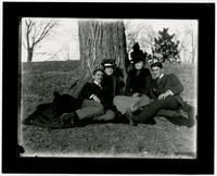Four People Under A Tree
